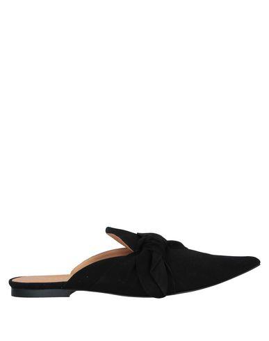 Intropia Mules And Clogs In Black