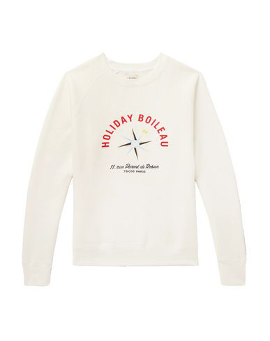 Holiday Boileau Sweatshirt In White