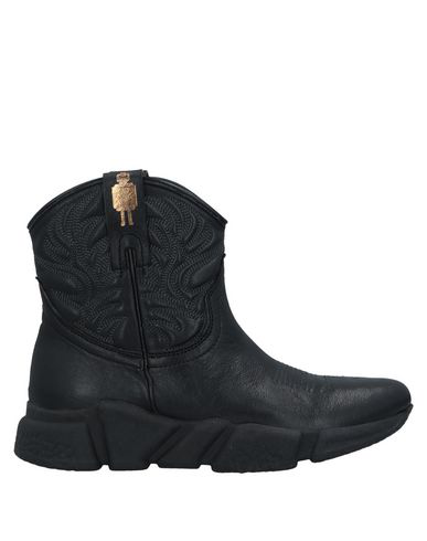 Texas Robot Ankle Boot In Black