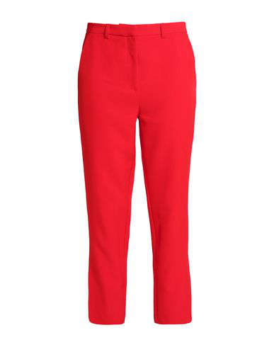 Iris & Ink Casual Pants In Red