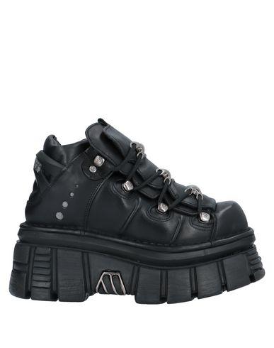 New Rock Sneakers In Black