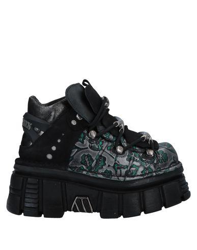 New Rock Sneakers In Emerald Green