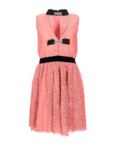 Manoush Short Dress In Coral