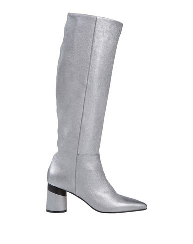 Alysi Boots In Silver