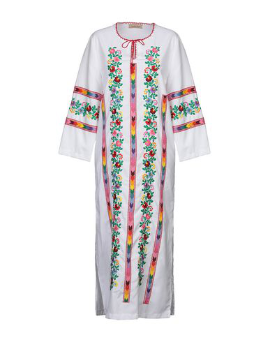Muzungu Sisters Long Dress In White
