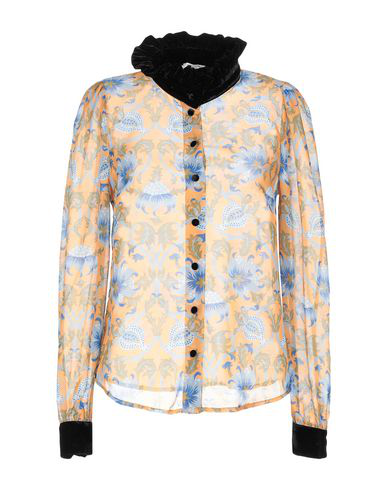 Manoush Floral Shirts & Blouses In Ocher