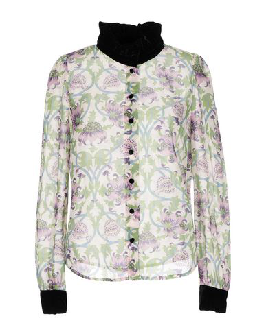 Manoush Floral Shirts & Blouses In Ivory
