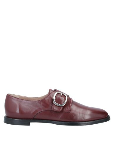 Cheville Loafers In Maroon