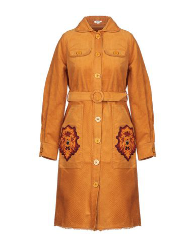 Manoush Coat In Ocher