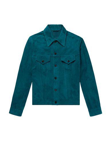 Valstar Leather Jacket In Deep Jade