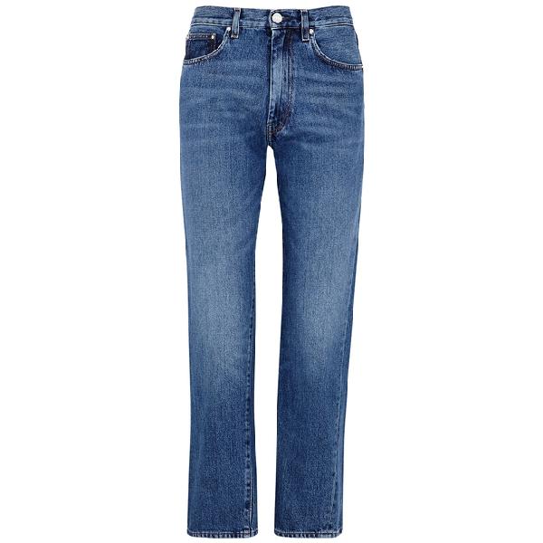 TOTÊME Mid-rise straight-leg jeans sale