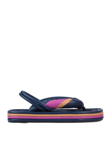 Isabel Marant Flip Flops In Dark Blue