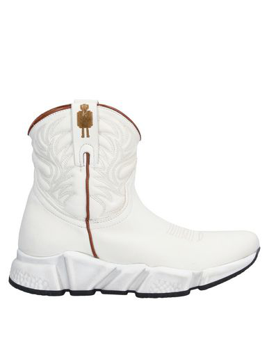 Texas Robot Ankle Boot In Ivory