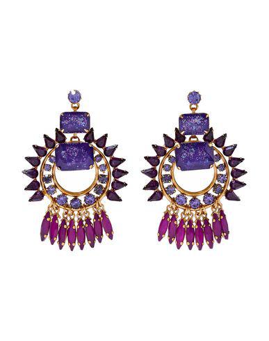 Elizabeth Cole Earrings In Purple
