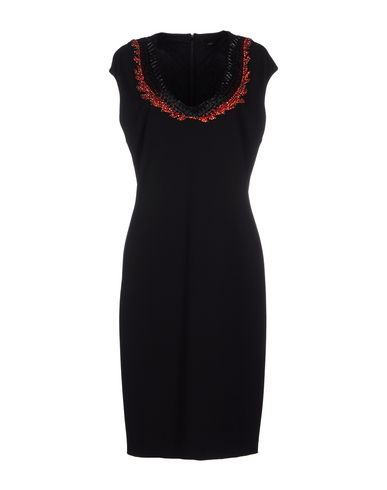 Roberto Cavalli Knee-length Dress In Black