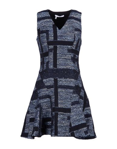 Derek Lam Short Dress In Blue