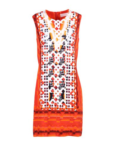 Peter Pilotto Short Dress In Red