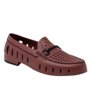 Floafers Men's Slip On Loafers - Chairman Bit Men's Shoes In Burgundy