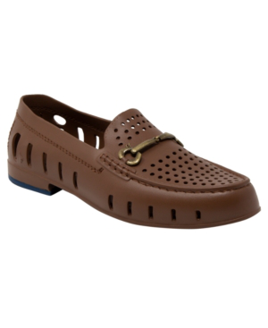 Floafers Men's Slip On Loafers - Chairman Bit Men's Shoes In Brown