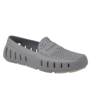 Floafers Men's Slip On Loafers - Country Club Driver Men's Shoes In Gray