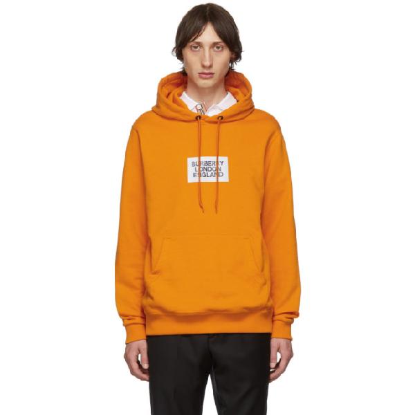 Burberry Burb Hd Swt Logo Orng - 橘色 In Orange