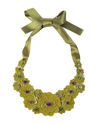 Liberty London Necklace In Acid Green