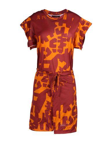 Isabel Marant Short Dress In Maroon