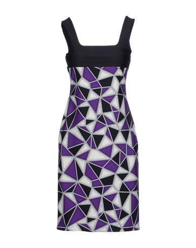 Fausto Puglisi Short Dress In Purple