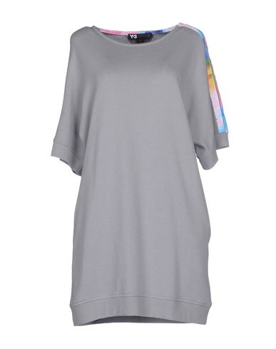 Y-3 Short Dress In Grey