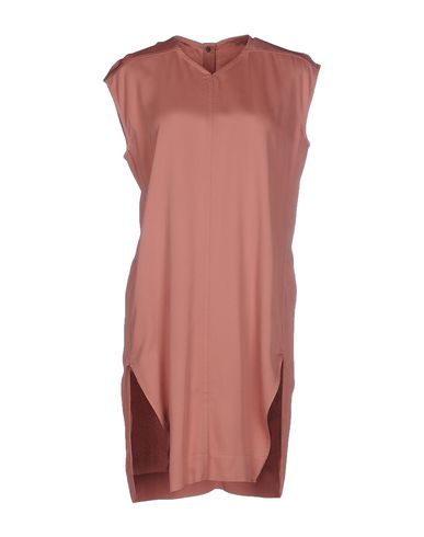 Rick Owens Short Dresses In Pastel Pink