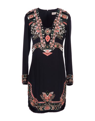 Emilio Pucci Short Dress In Black