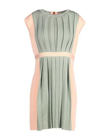Moschino Short Dress In Green