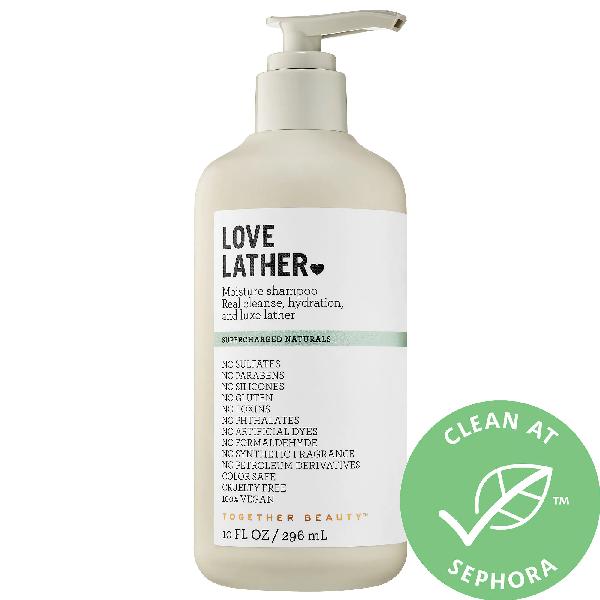 Together Beauty Love Lather Moisture Shampoo 10 oz/ 296 ml