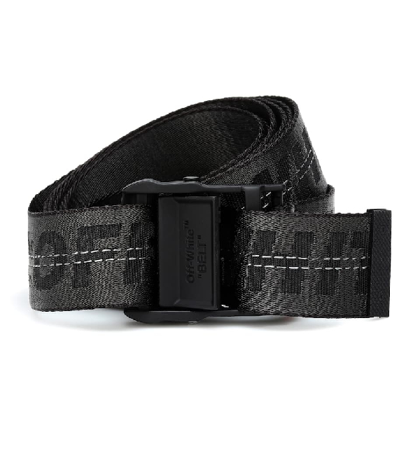 Off-white Industrial Belt Belts In Black Tech/synthetic