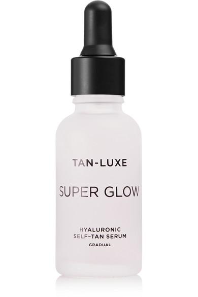 Tan-luxe Super Glow Hyaluronic Self-tan Serum, 30ml In Colorless
