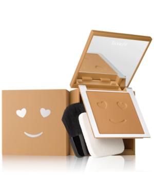 Benefit Cosmetics Benefit Hello Happy Velvet Powder Foundation In Shade 08 Tan - Warm
