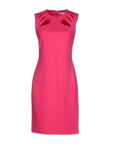 Diane Von Furstenberg Short Dress In Fuchsia