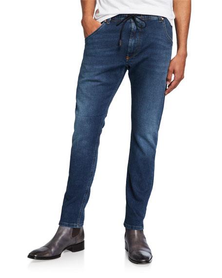 Diesel Krooley R Jogg Slim Fit Jeans In Denim