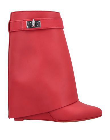 Givenchy Ankle Boots In Red
