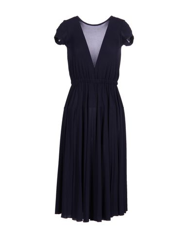 Rochas Knee-length Dress In Dark Blue