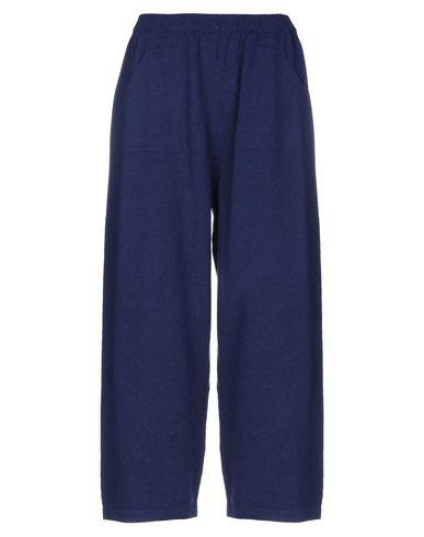Chiara Bertani Casual Pants In Dark Blue