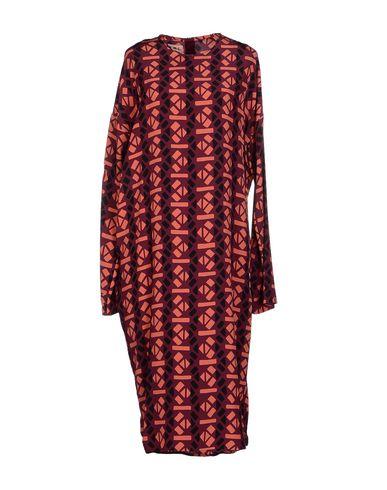 Marni 3/4 Length Dresses In Purple