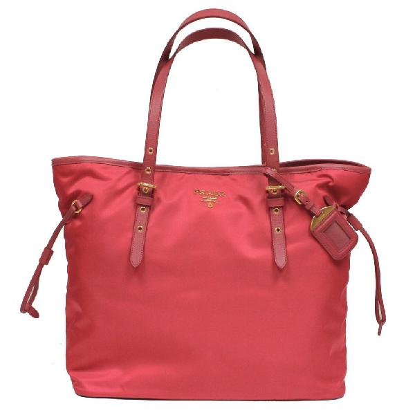 Prada Shopping Tote Tessuto Large Pink