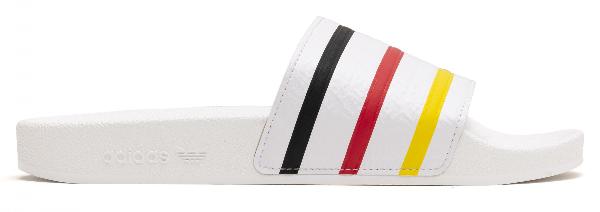 Adidas Originals Adidas Adilette Slides In White