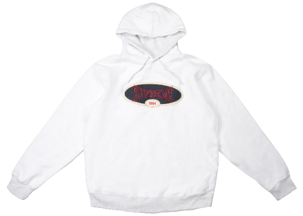 a1aaaf6f Supreme Reverse Fleece Hooded Sweatshirt (Ss18) Ash Grey | ModeSens