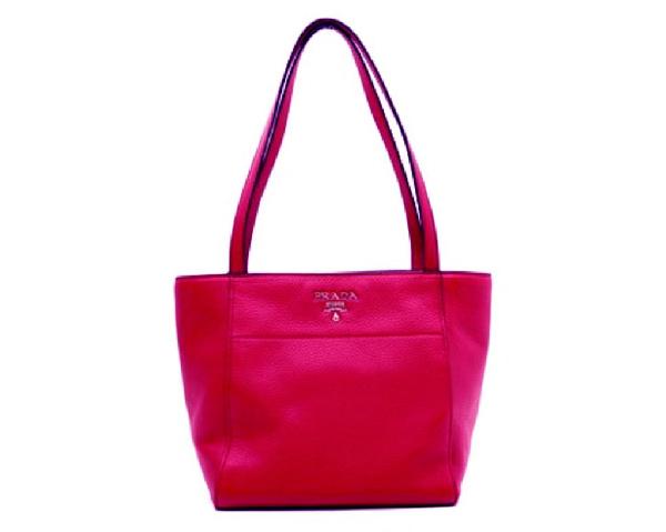Prada Vitello Phenix Tote Pink