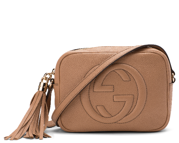 Gucci Soho Disco Leather Small Rose Beige