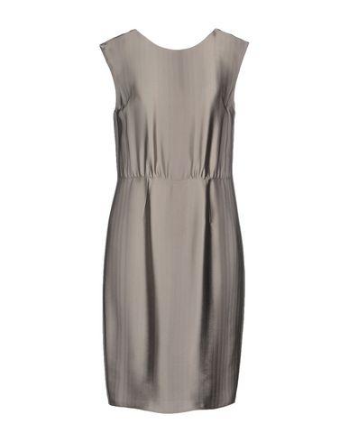 Emporio Armani Short Dress In Grey
