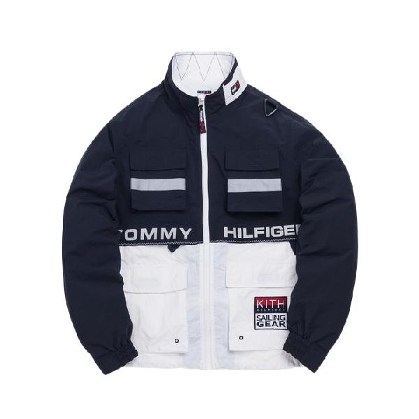 6dcda654 Kith X Tommy Hilfiger Sailing Utility Jacket Navy/White | ModeSens