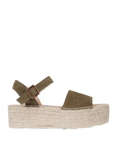 8 By Yoox Sandals In Military Green